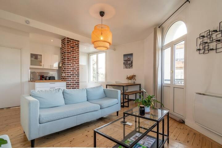 Marcq en Baroeul - Nice, cozy & functional ap.