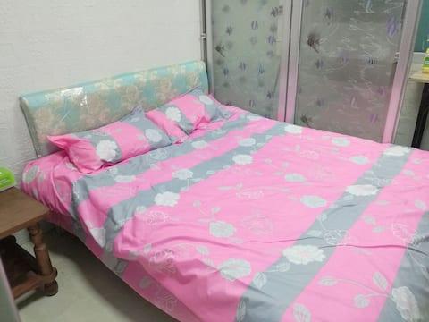大田县城区距汽车站两站地 自家独立20平独立房间 干净价低小屋更温馨 一客一消毒