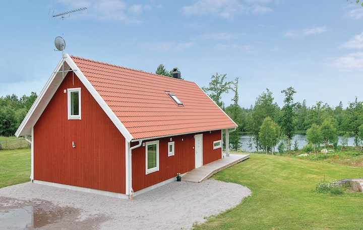 Nice home in Holmsjö with 3 Bedrooms