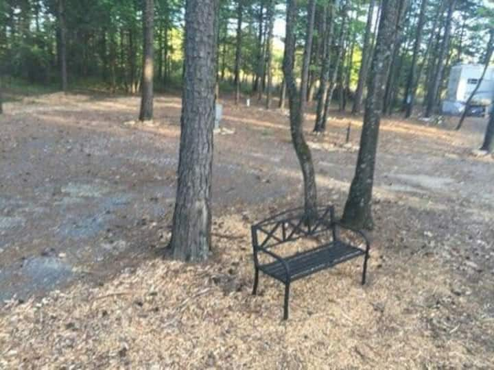 Wooded RV Site Only Greers Ferry Lake Full Hookups