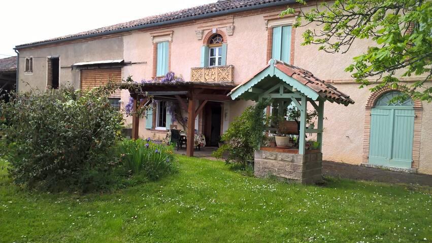 3 Chambres dans les coteaux du Quercy - Montesquieu - Casa