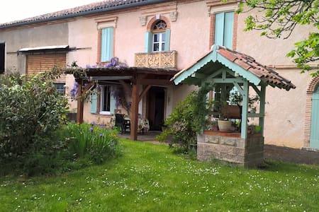 Chambres dans les coteaux du Quercy - Maison