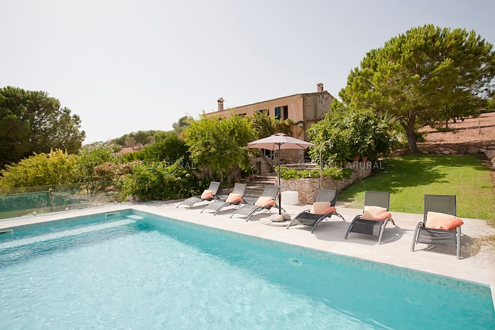 MAJORCAN FINCA IN IDYLLIC CAMPSITE, CLOSE BEACHES - Manacor