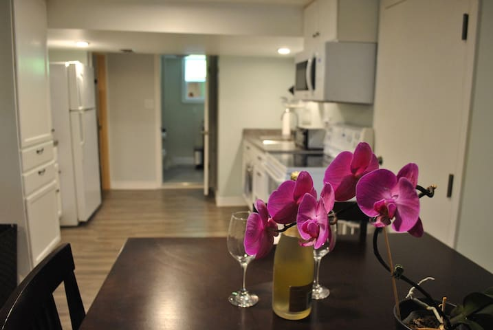 Gorgeous 1 BR Apartment in the Heart of Wolfville - Wolfville - Apartmen