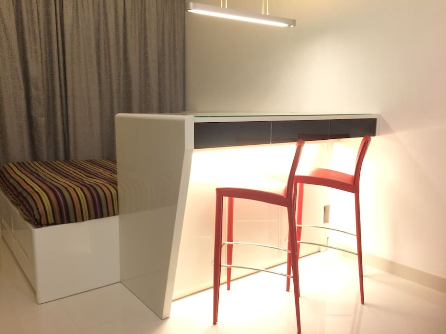 Oversized Multi-purpose Bar Table and Bed