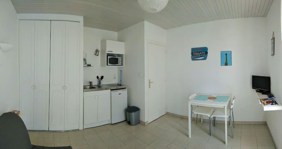 Le Pêcheur, studio proche de la mer