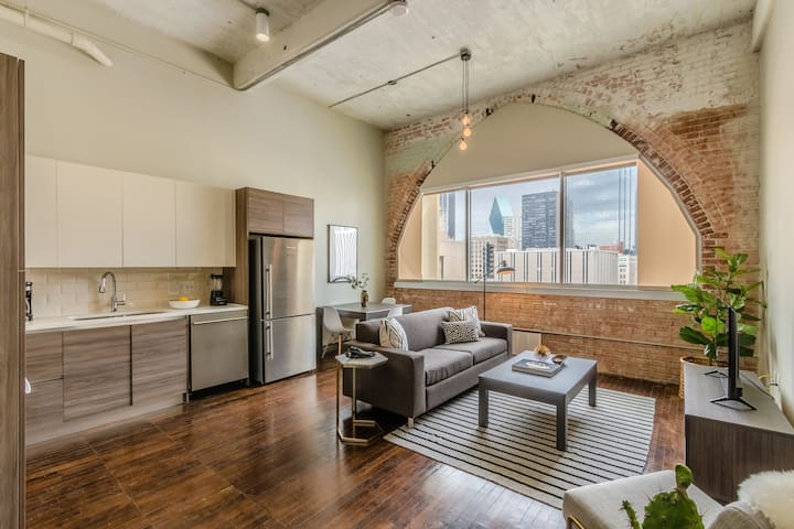 Relaxing 1 Bed, 1 Bath Dallas Downtown Apartment