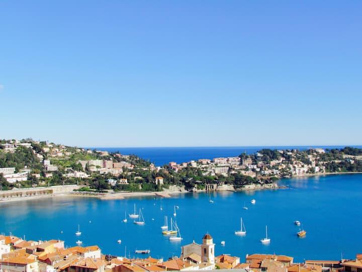 Entre Monaco et Nice, appartement superbe vue