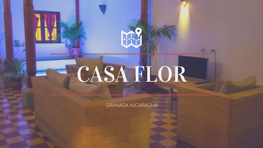 CASA FLOR, Colonial House with swimming pool