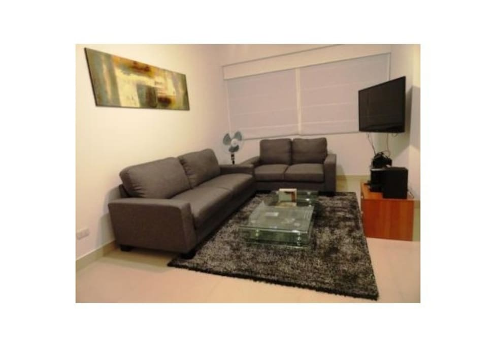 Sala con TV / Living room with TV