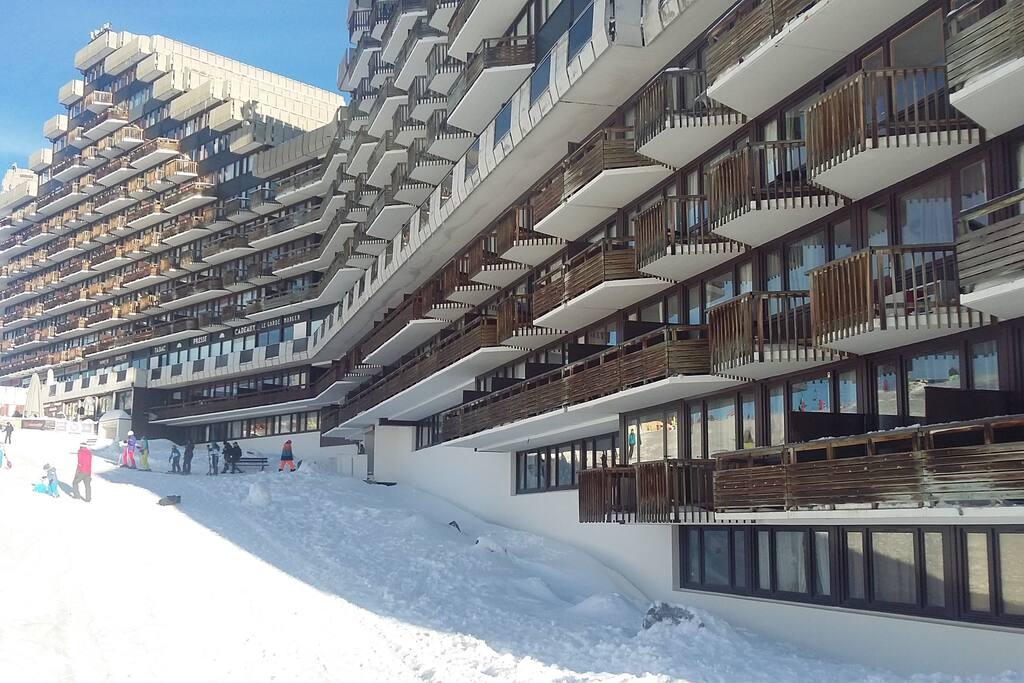 Appartement au rdc (le 1er en bas en partant de la gauche)