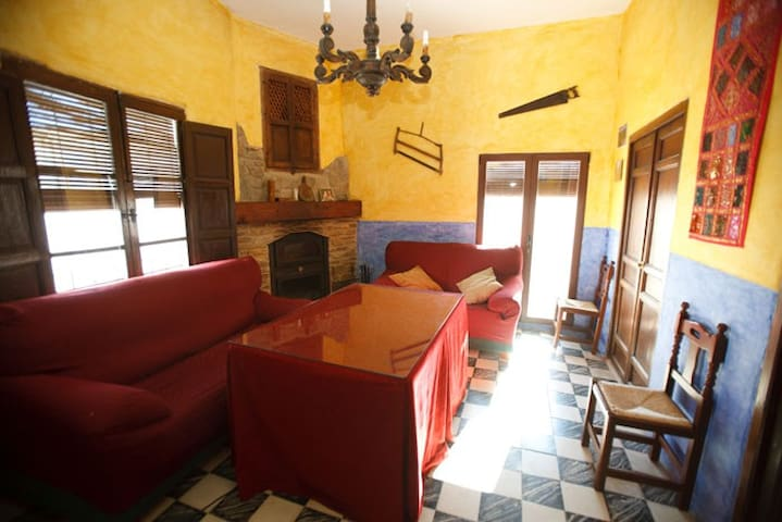 La Casa del Carpintero en Atalbeitar - Pitres - Casa