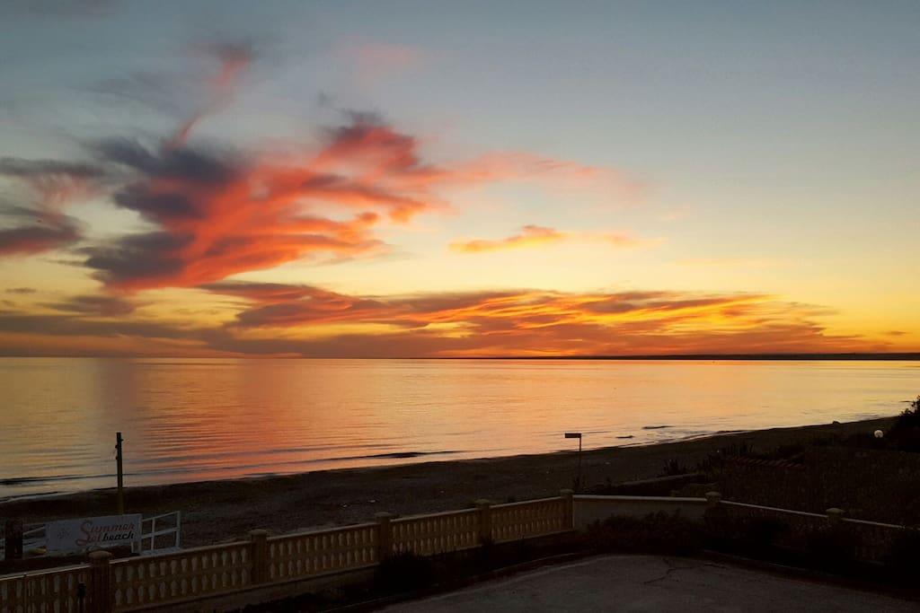Spettacolari tramonti