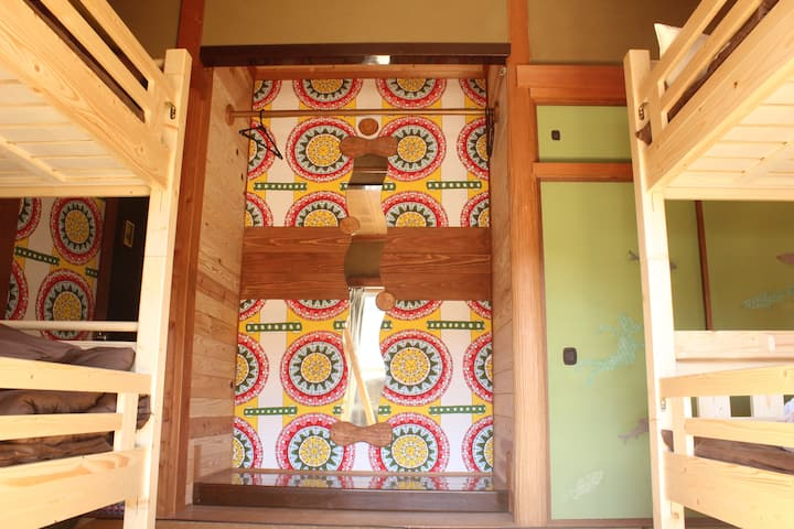 【Mix dormitory for 2 person】with Wi-Fi