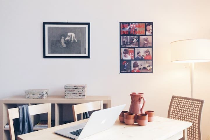 New Yorker Retreat Room in warm hearted Loftspace