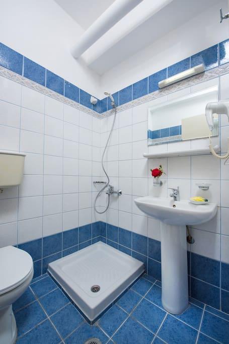 Garden View Studio Bathroom