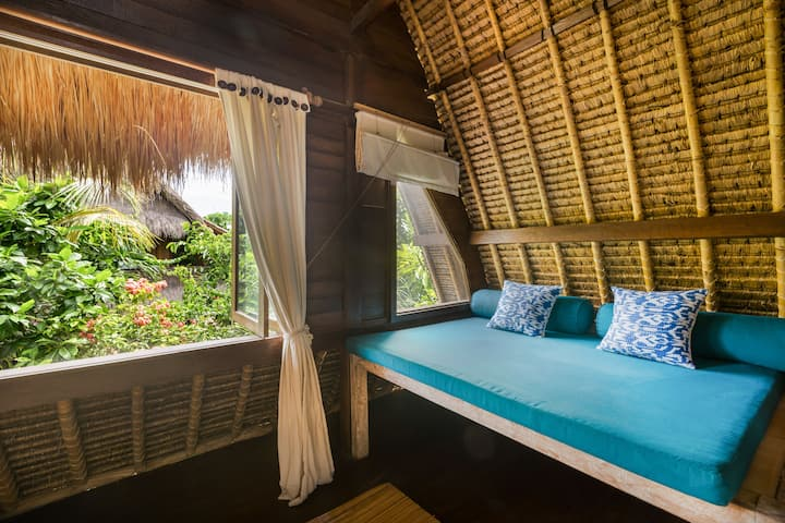 Upstairs Double room @ Tigerlillys; an Adult only, eco conscious boutique hotel
