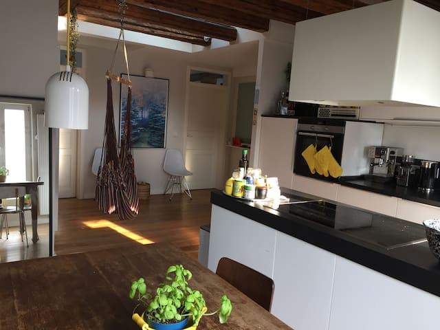 Modern + cool flat close to Frankfurt, Messe&river