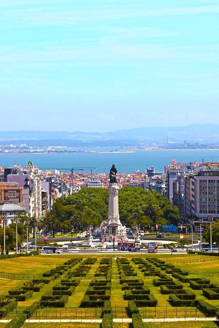 Eduard VII park - Lisbon, Portugal