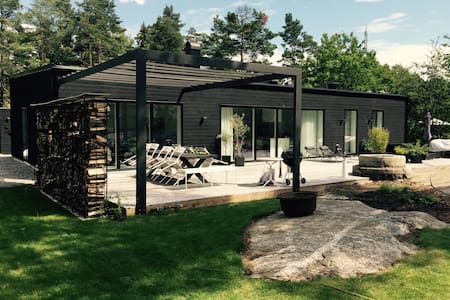 Family friendly single-storey house - Saltsjöbaden - Hus