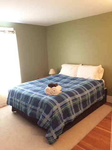 Spacious 1 bed Apt Downtown Rossland - Rossland - Huoneisto