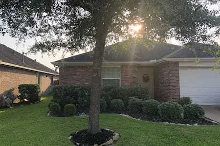 Friendly Central Katy Home