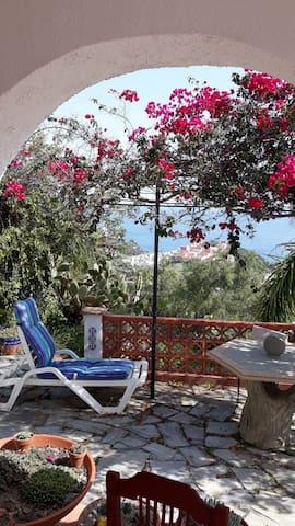 Casa cactus with breathtaking sea view