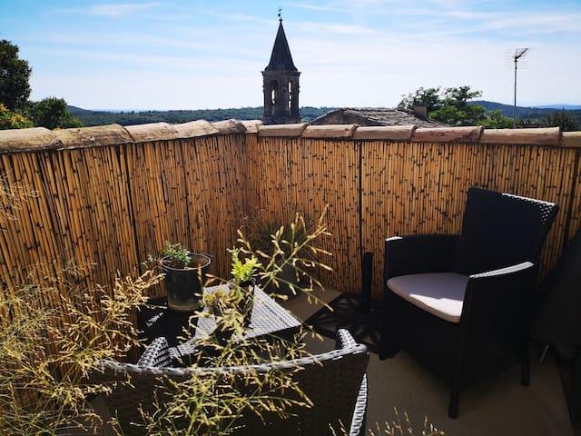 La petite terrasse privative
