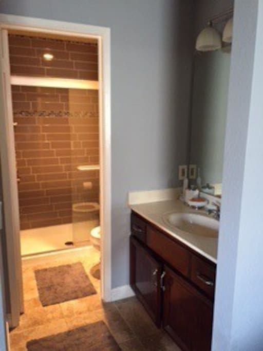 Master Bath / Shower only no tub