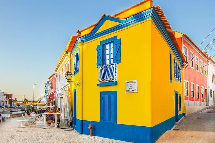 Casa do Mercado - THE most photographed house in Aveiro!