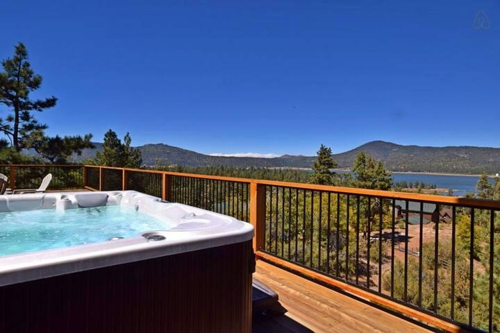 Grand Views: Theater Room! Hot Tub! Pool Table! - Big Bear Lake - House
