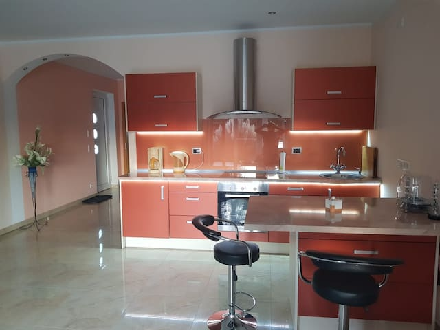 Modern appartment, desinfected & no contact (60qm)