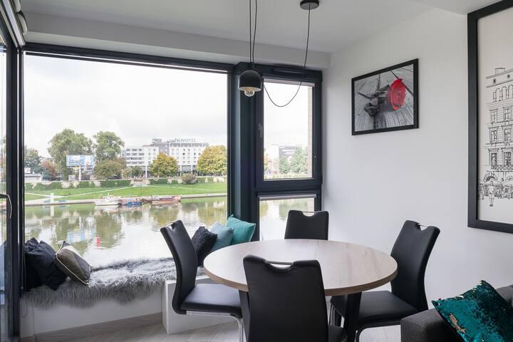 Prestigious apartment with a breathtaking view