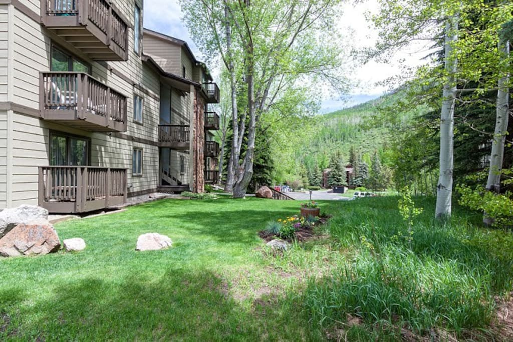 Quiet, inviting condos just minutes from Vail Mountain.