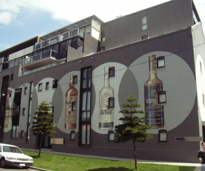 ID apartments was originally a distillery