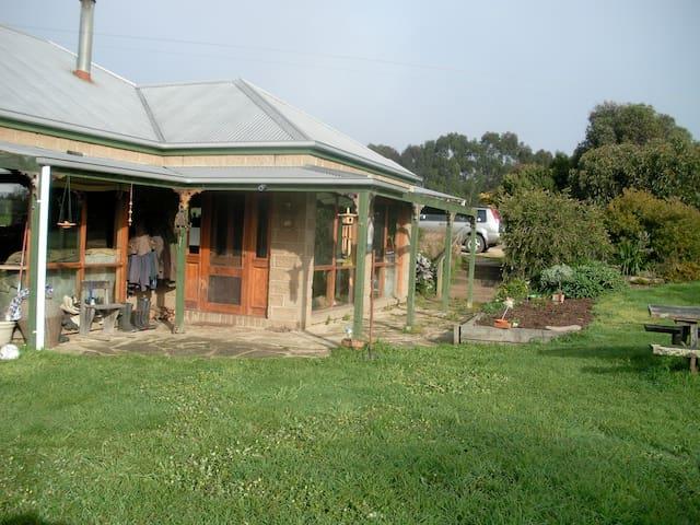 Farm homestead, passive solar design