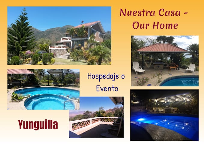 NUESTRA CASA -OUR HOME  Yunguilla Valley -by A2CC