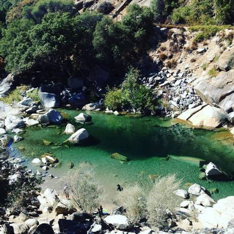 South Yuba swimming hole