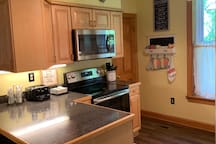 Kitchen (view when entering from Laundry Room)