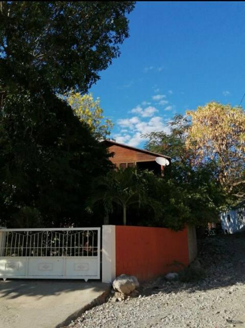 Cabaña en Ladrillo y Madera