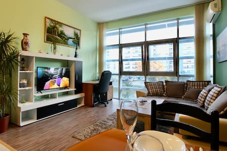 1bd Huge Downtown Glass Apt Green Paradise