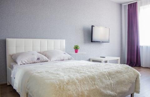 Уютная квартира в комфортном зеленом районе!!!