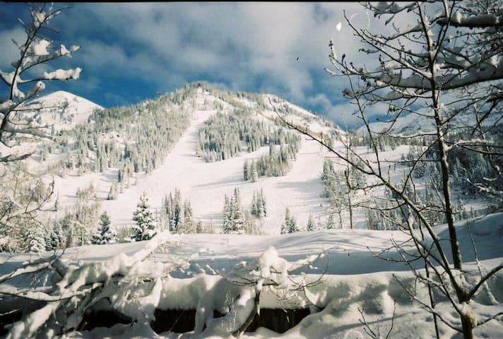 Iron Blosam Lodge at Snowbird, Utah