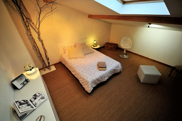 Chambre 1 - Maison typique au pied du vignoble