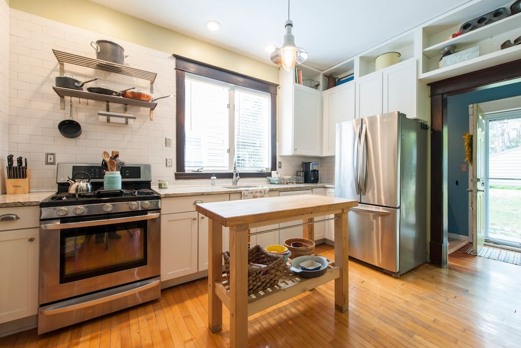 Remodeled kitchen provides extra counter space