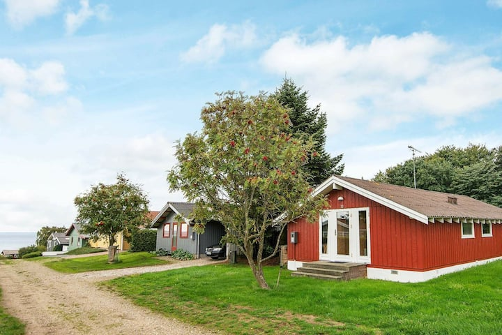 Lively Holiday Home in Jutland with Barbecue