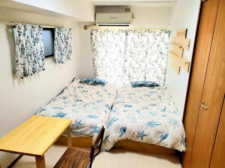 Ace Guest House 106☆7mins from Fujisawa station☆
