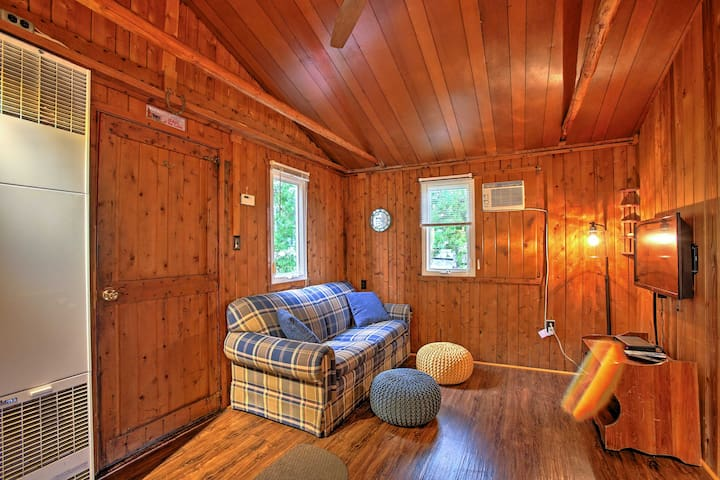 Cozy up in this comfortable space after adventures outside.