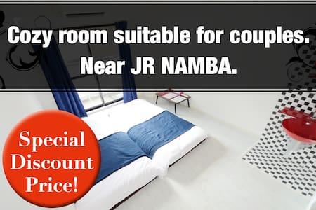 Cozy room suitable for couples. Near JR namba. - Naniwa-ku, Ōsaka-shi - Wohnung