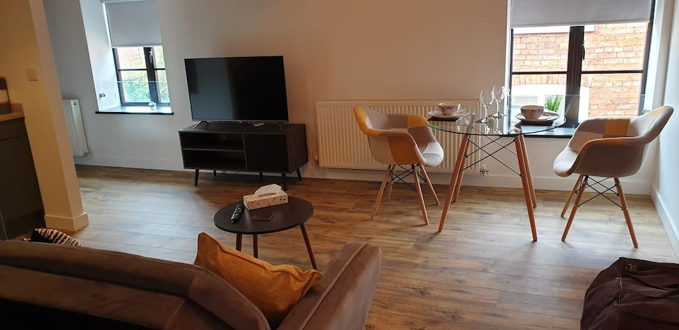 Beautiful converted warehouse into Apartments